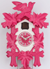 Kuckucksuhr Design Collection pink 350/20 Q